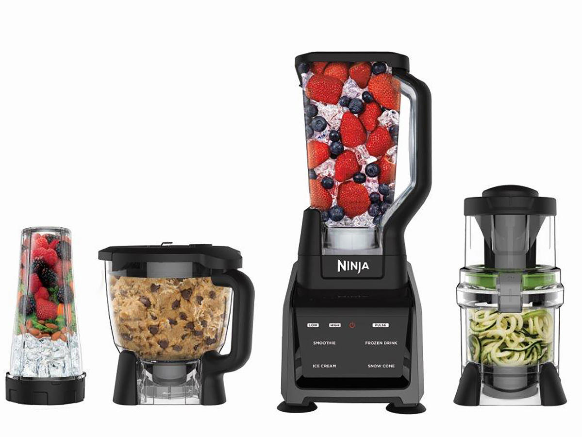 The Ninja Intelli-Sense System with Auto-Spiralizer