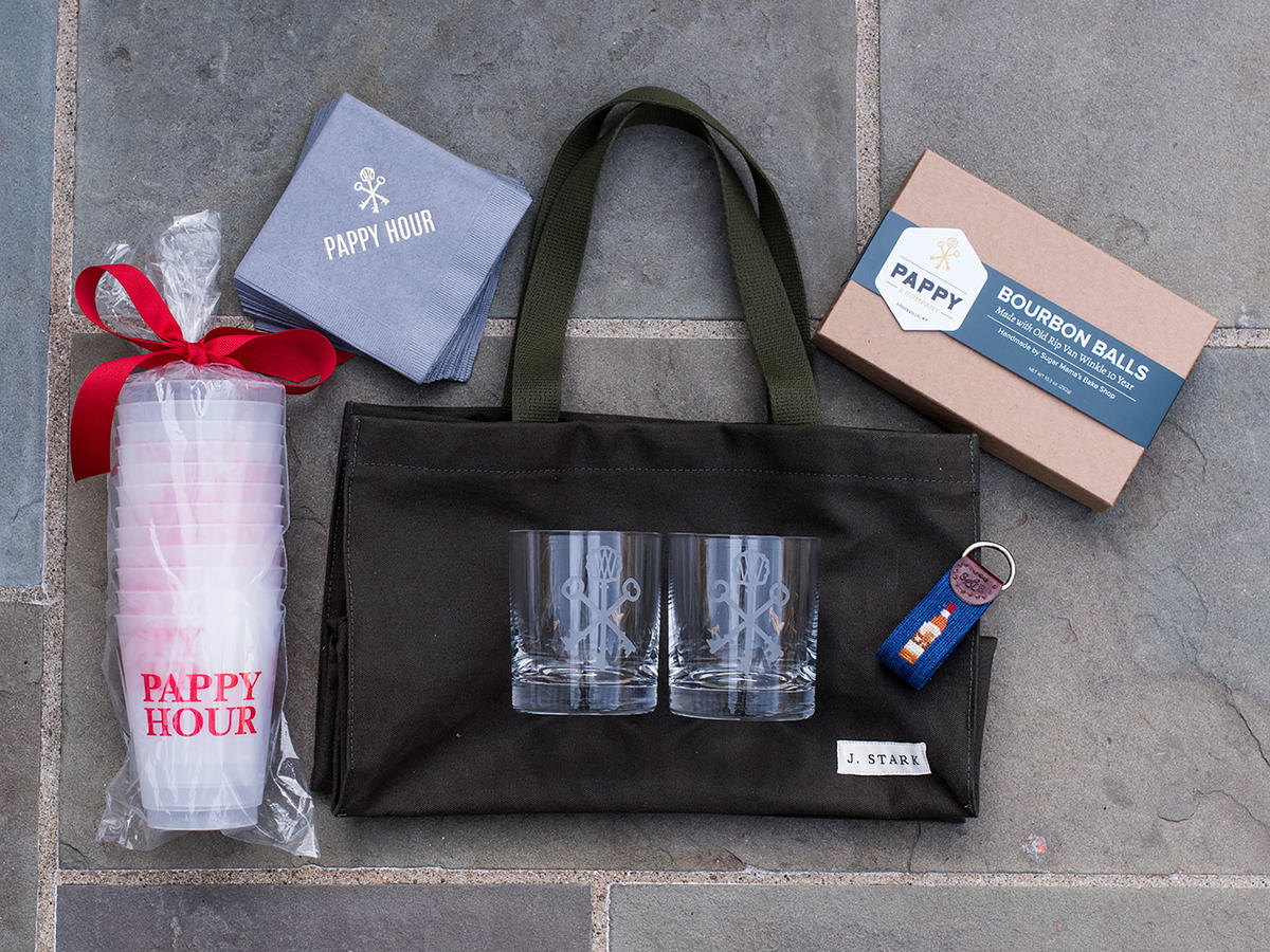 Pappy Hour Gift Tote