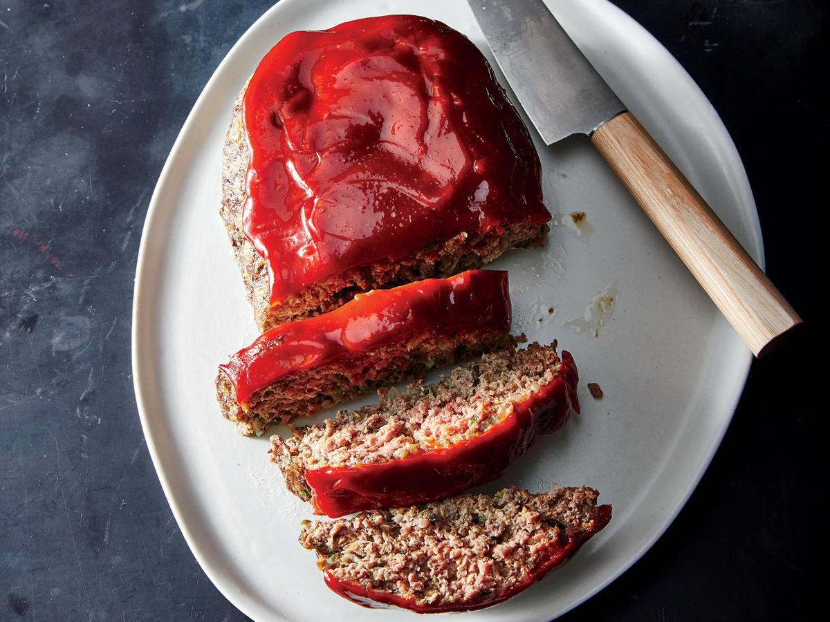 Flax-Boosted Meatloaf