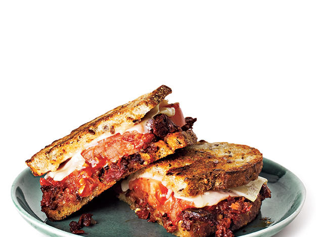 Grilled Gruyère and Olive Tapenade Sandwiches Recipe