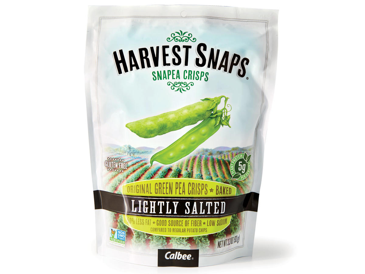 Harvest Snaps Lightly Salted Snapea Crisps