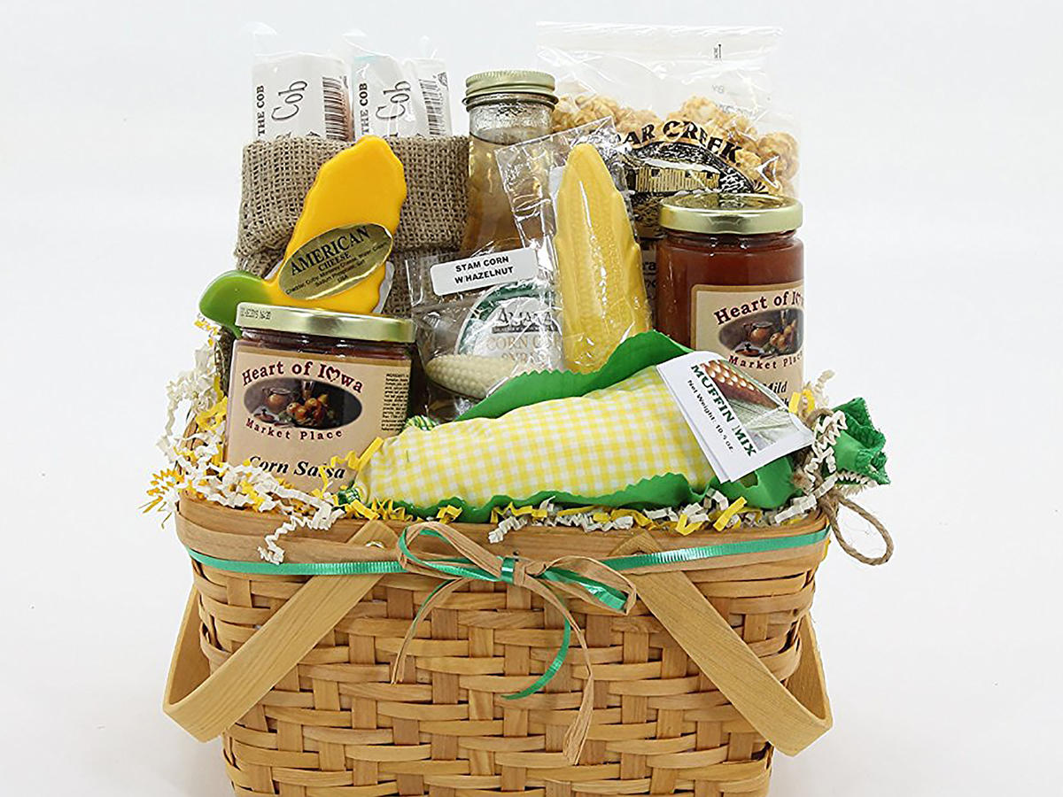 Heart of Iowa Market Place Corn Lover's Basket