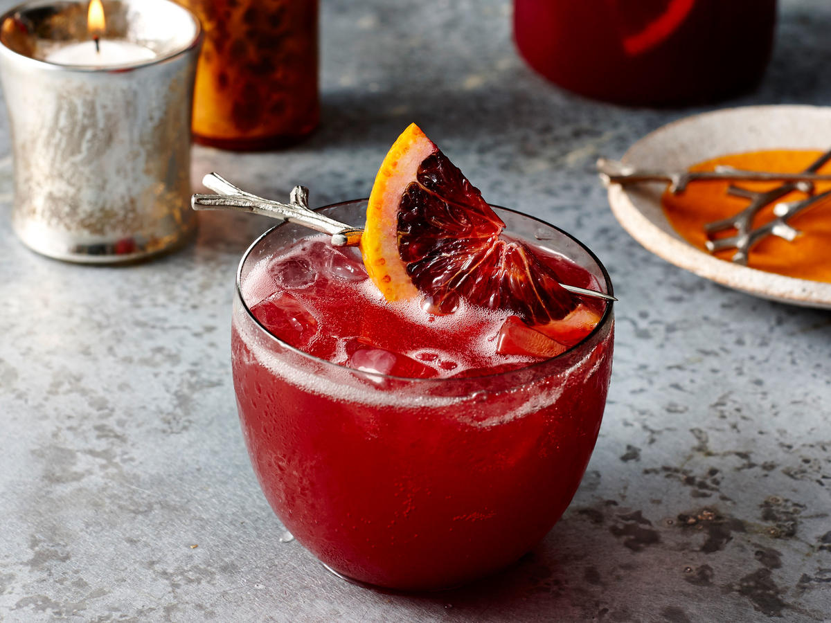 1708 Hibiscus and Blood Orange Punch - Sunday Strategist