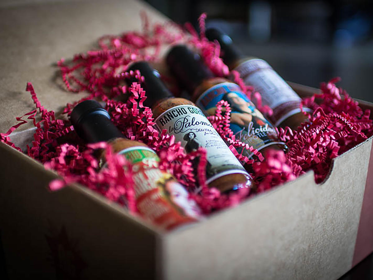 Rancho Gordo Hot Sauce Gift Box