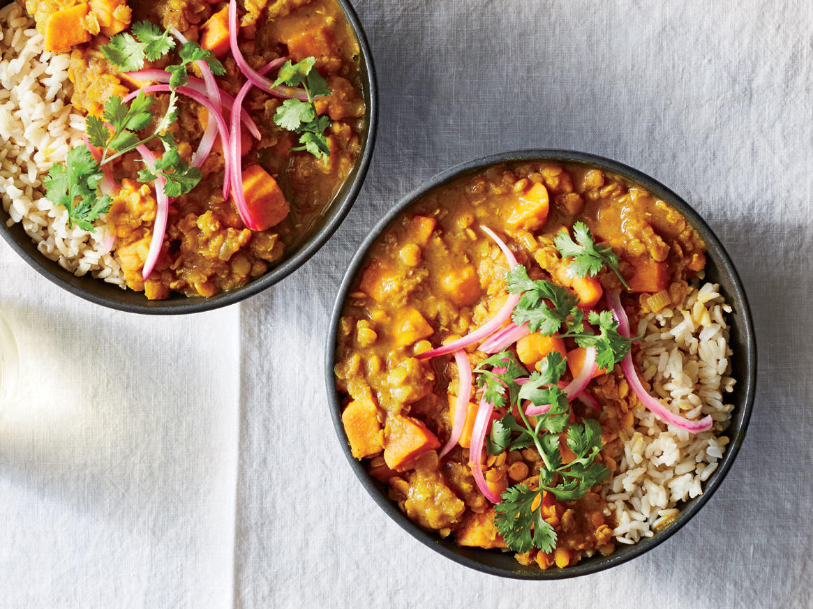 Sweet Potato And Red Lentil Curry Recipe Cooking Light
