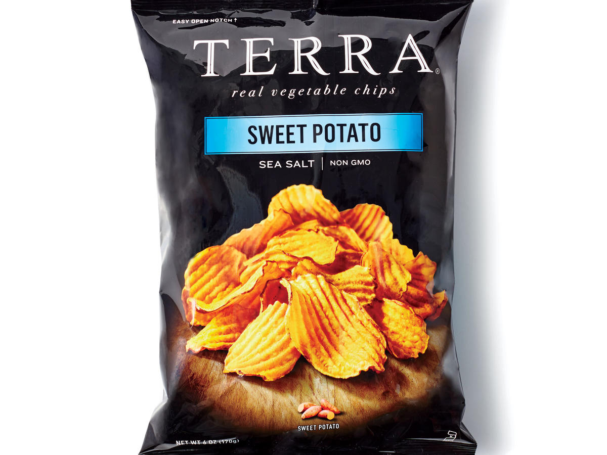 Terra Crinkled Sweet Potato Chips