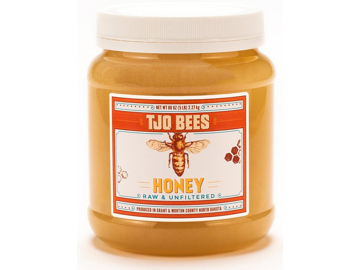 TJO Bees Raw and Unfiltered Honey
