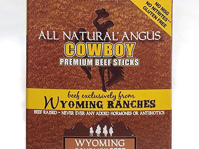 1708w Wyoming Gourmet Beef All Natural Angus Cowboy Hickory Sticks