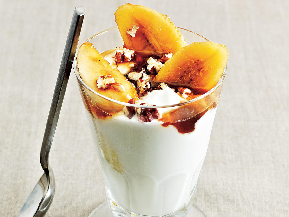 Bananas Foster Parfaits