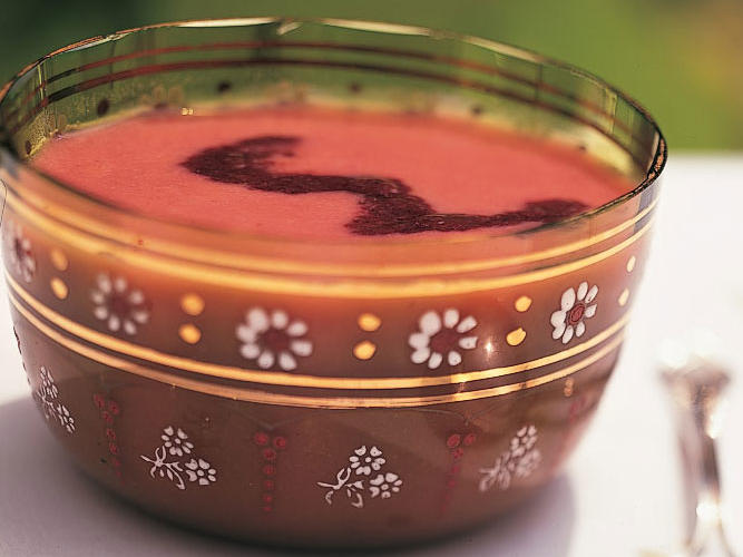 Healthy Cool Summer-Berry Soup Recipe