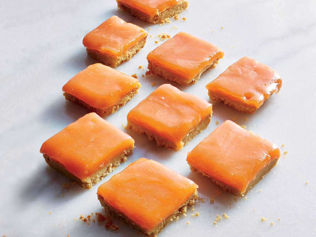 1711 Grapefruit-Campari Bars With Shortbread Crust