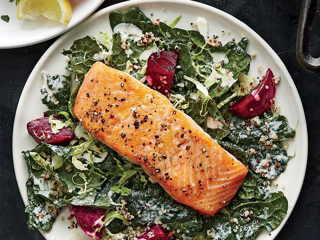 Thursday: Supercharged Salmon Salad