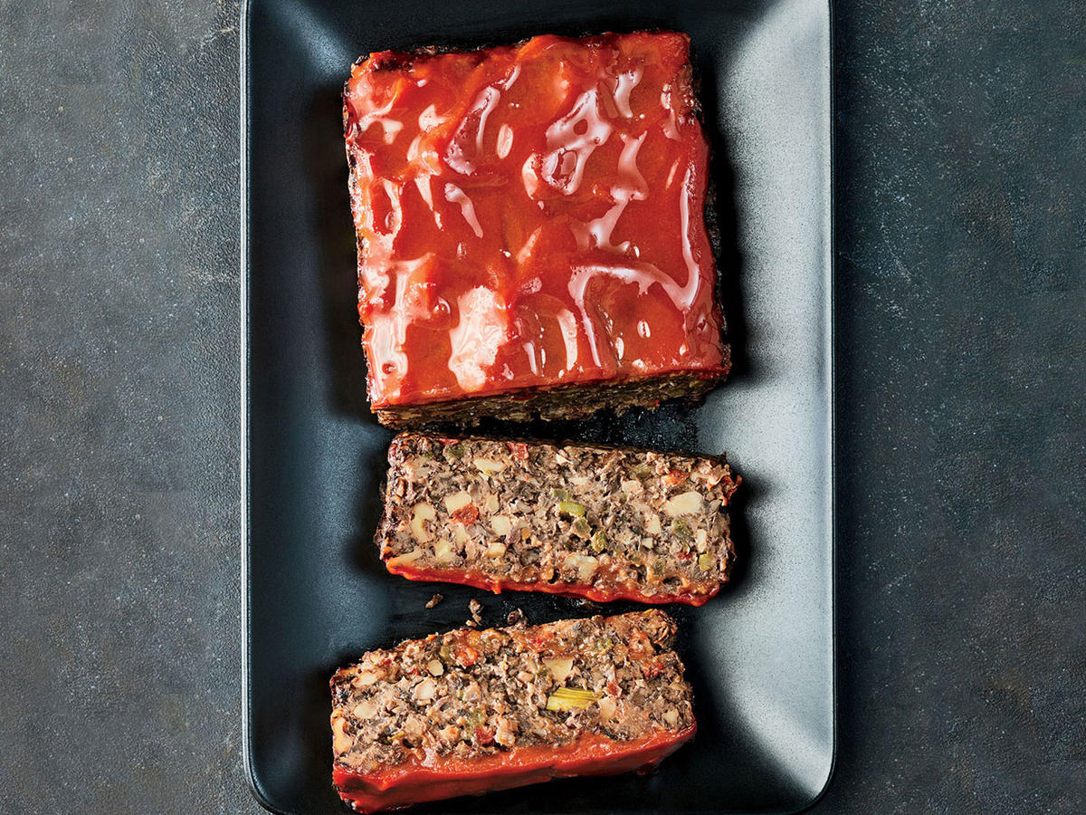 "Monday: Vegetable ""Meat"" Loaf"