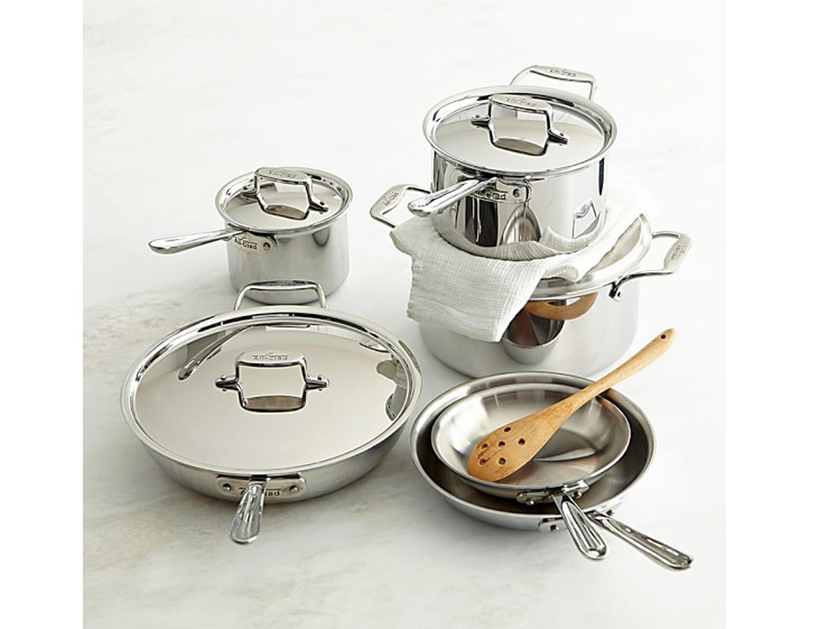 Williams-Sonoma All Clad Stainless Steel Cookware Set
