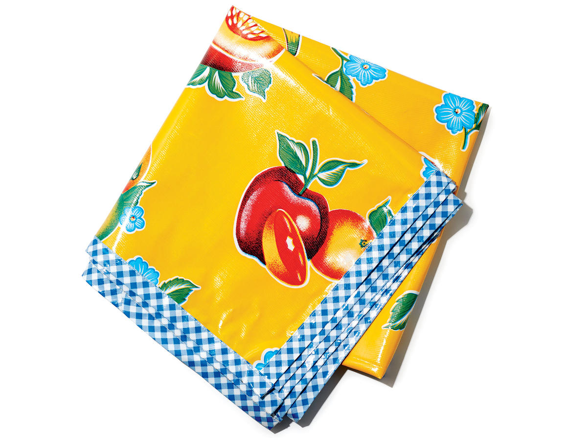 Fruit and Floral Tablecloth