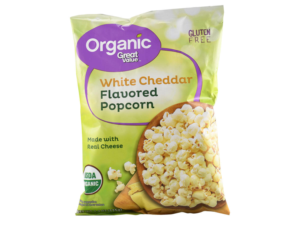 Great Value White Cheddar Popcorn