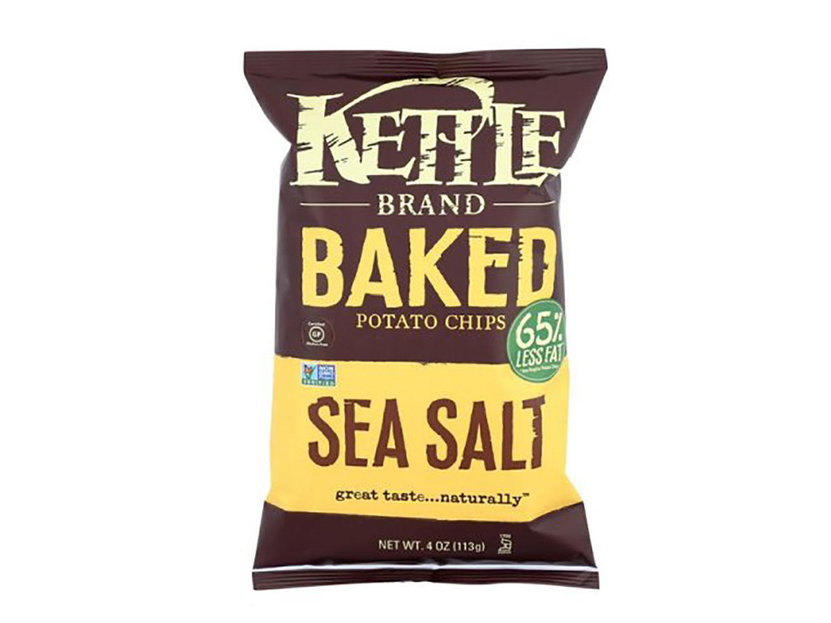 1101 Kettle Brand Baked Potato Chips Sea Salt
