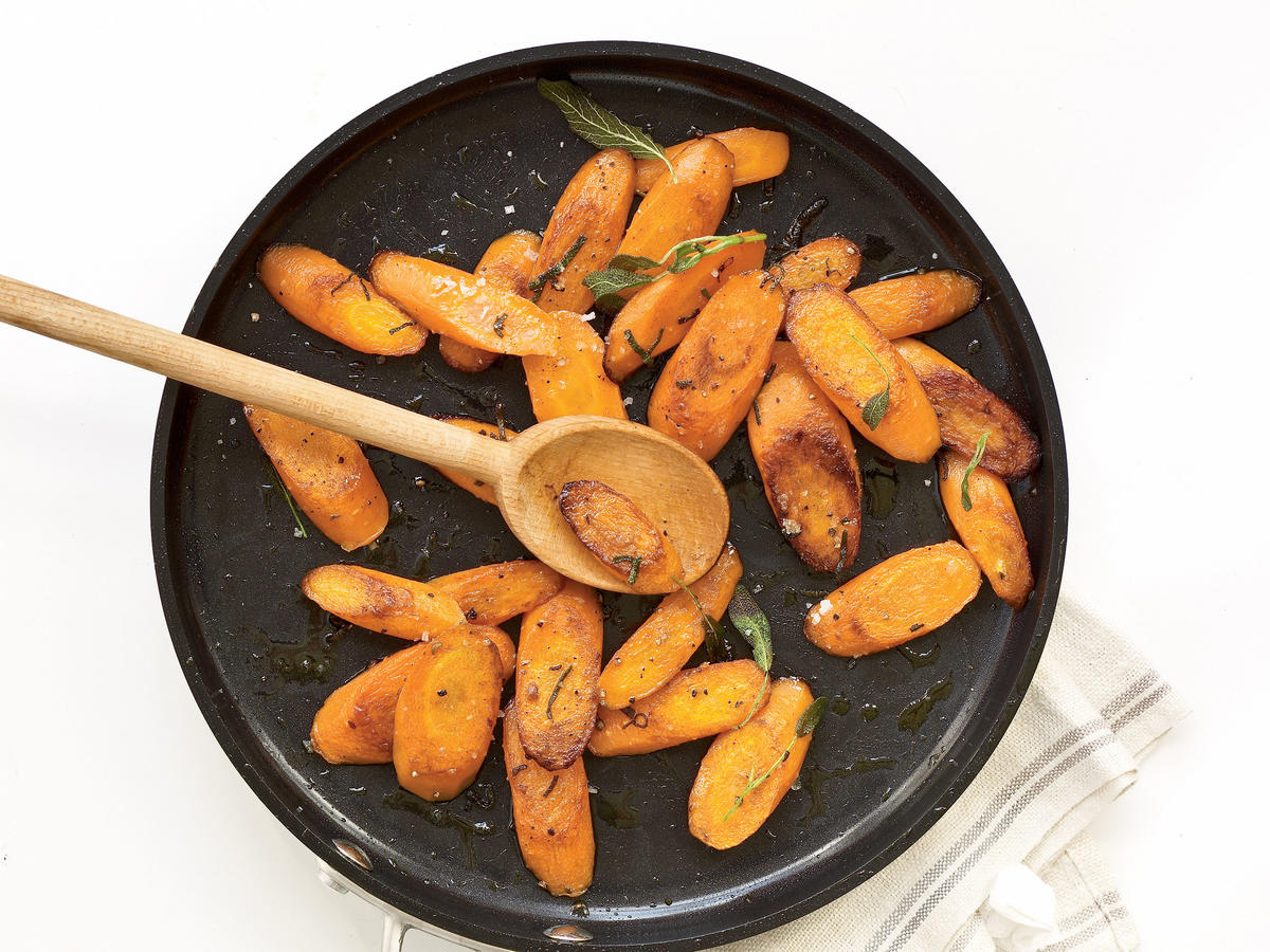 Easter Sides: Sautéed Carrots with Sage Recipes