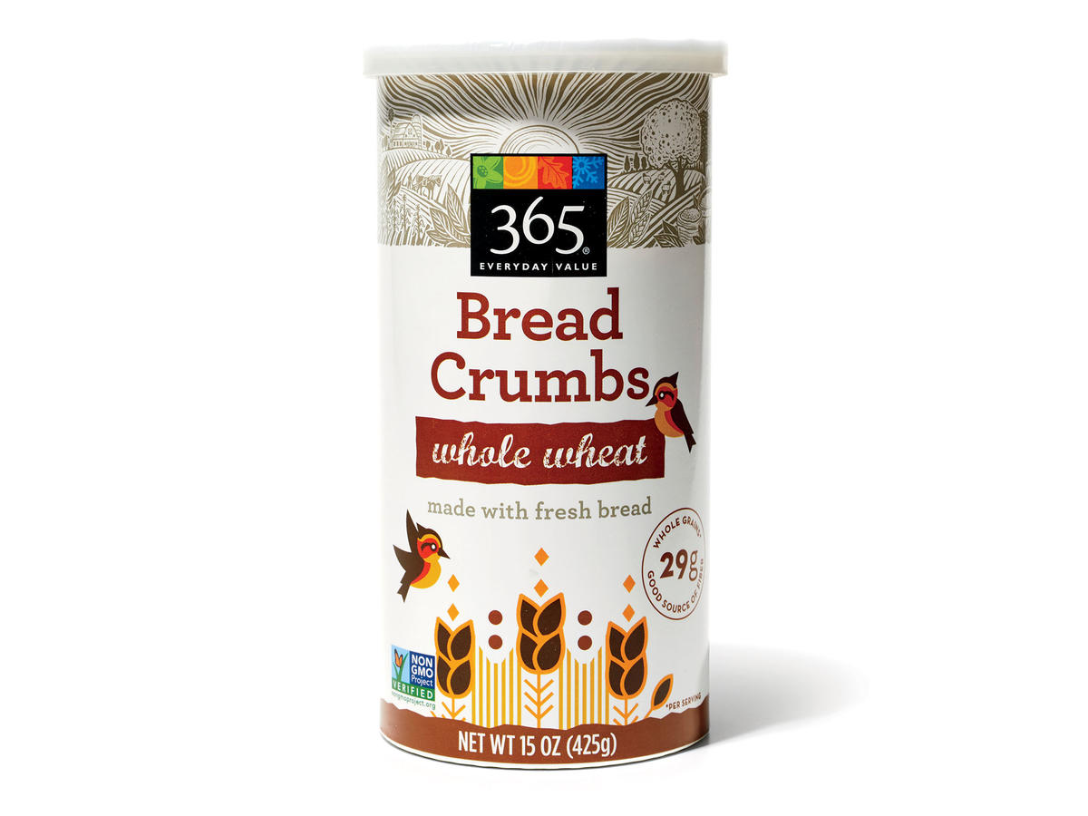 365 Everyday Value Whole Wheat Bread Crumbs