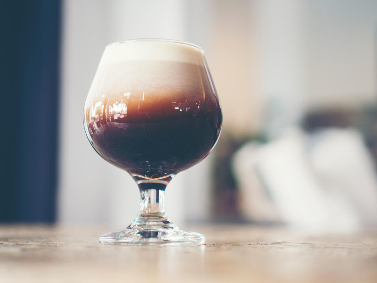 nitro cold brew coffee