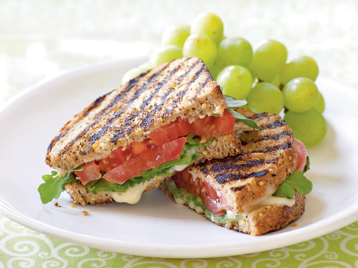 Grilled Tomato and Brie Sandwiches Makeover