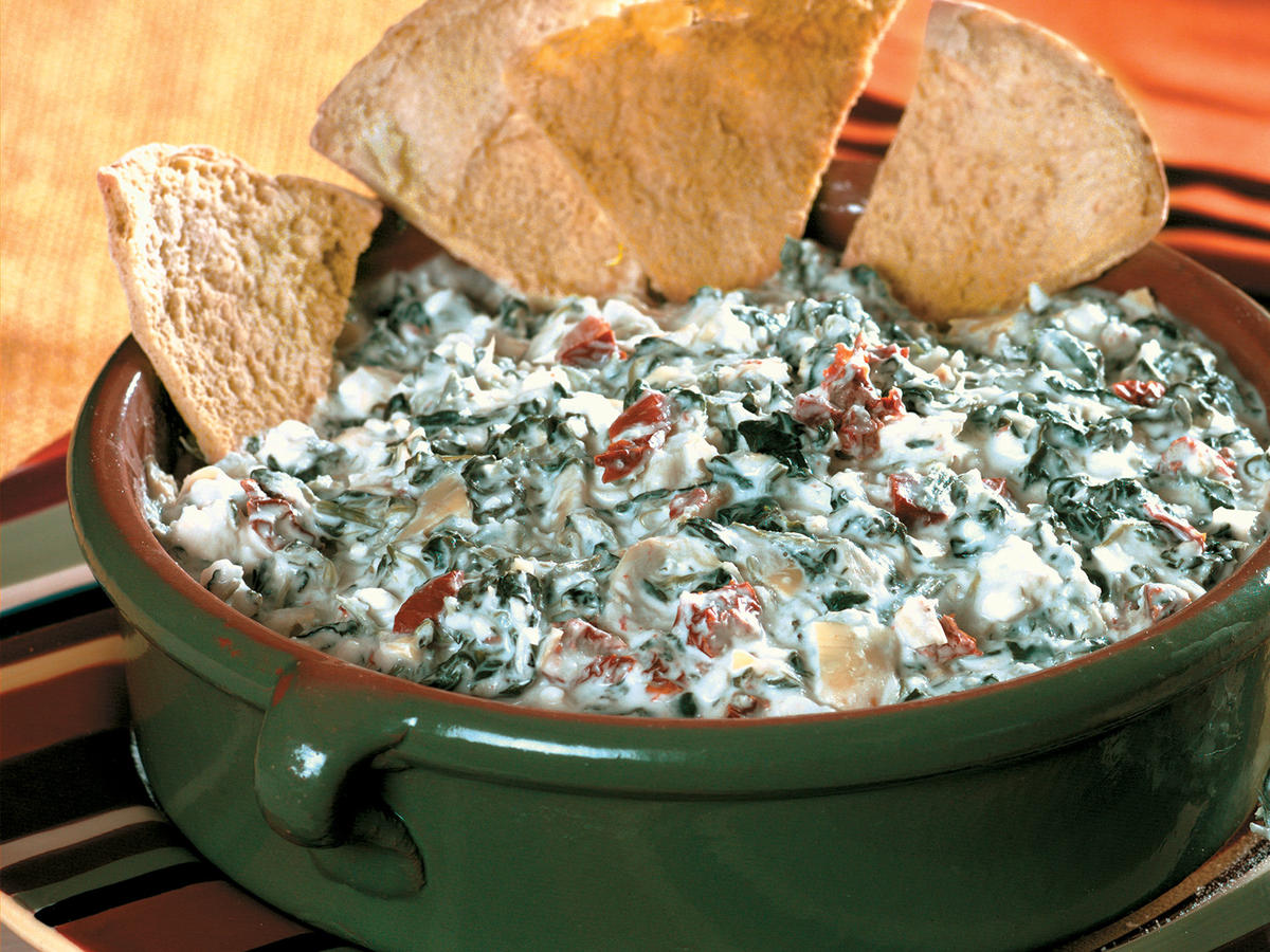 Cheesy Spinach-Artichoke Dip Recipes