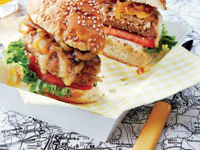 New England Turkey Burger