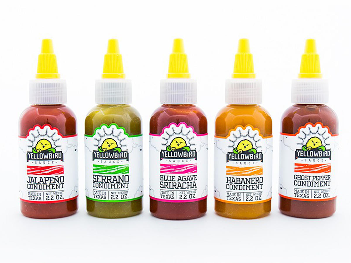 Yellowbird Spicy Condiments Hot Sauce