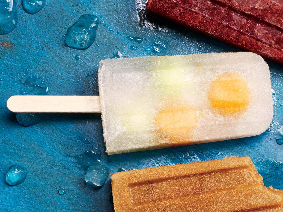Melon Mimosa Ice Pops