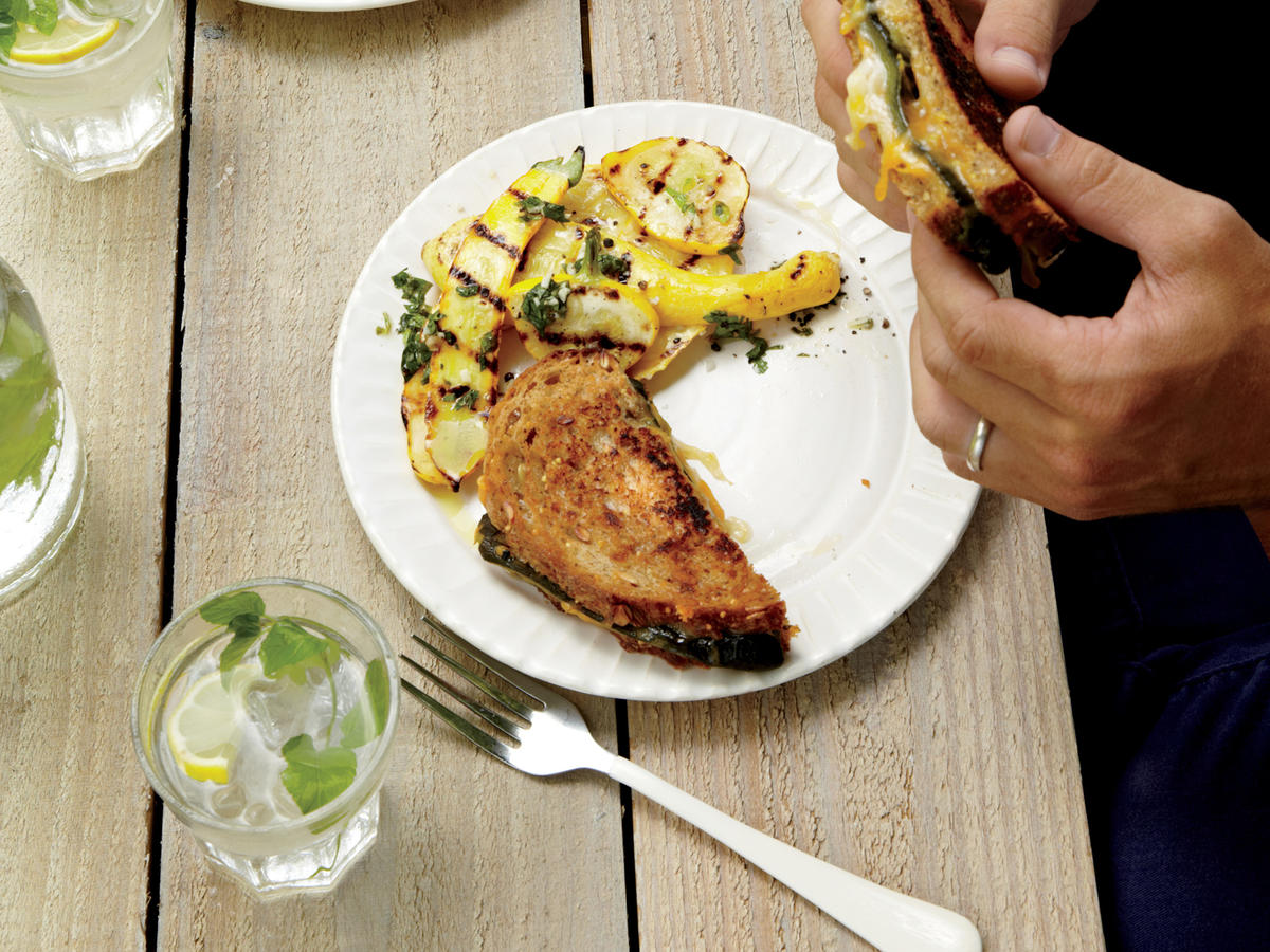 Grilled Summer Squash With Gremolata