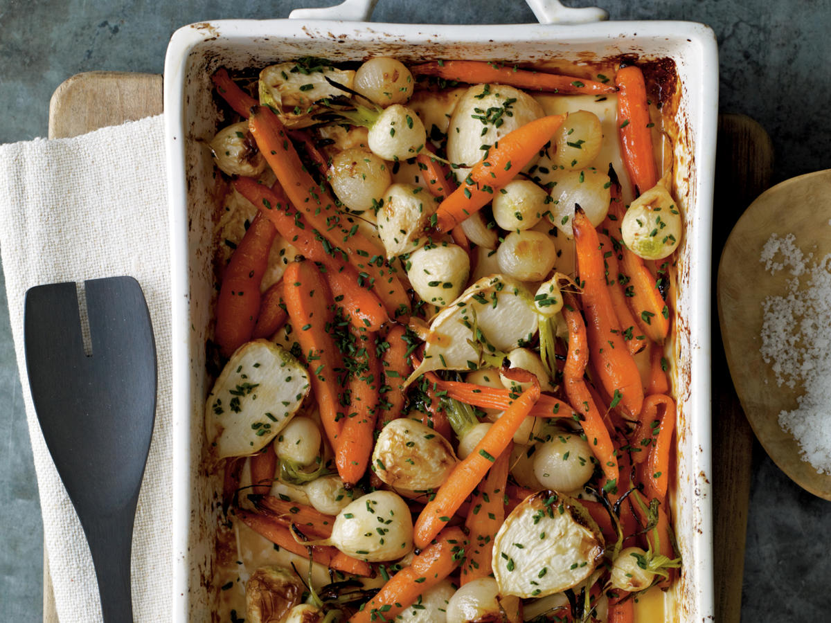 Roasted Root Vegetables with Sorghum and Cider Recipes