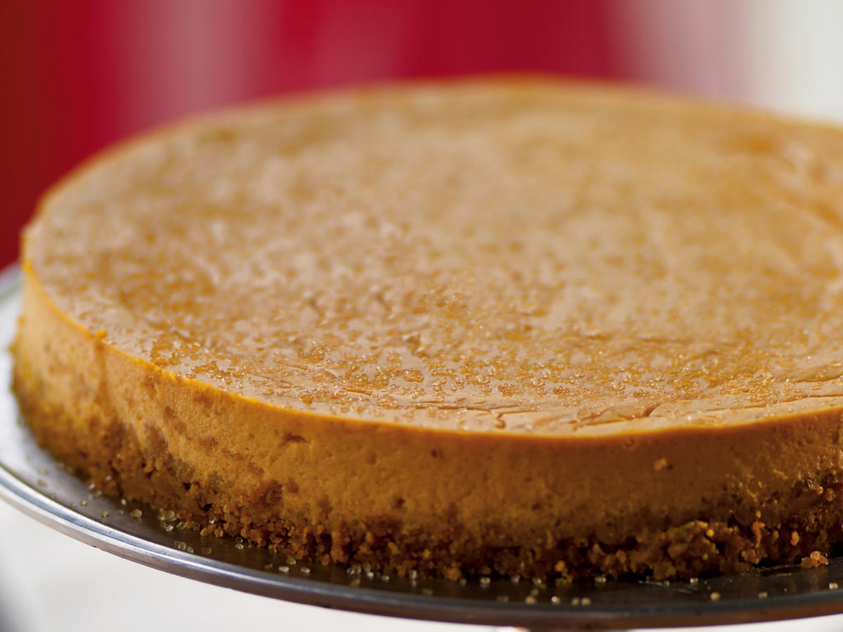 Ginger Pumpkin Cheesecake