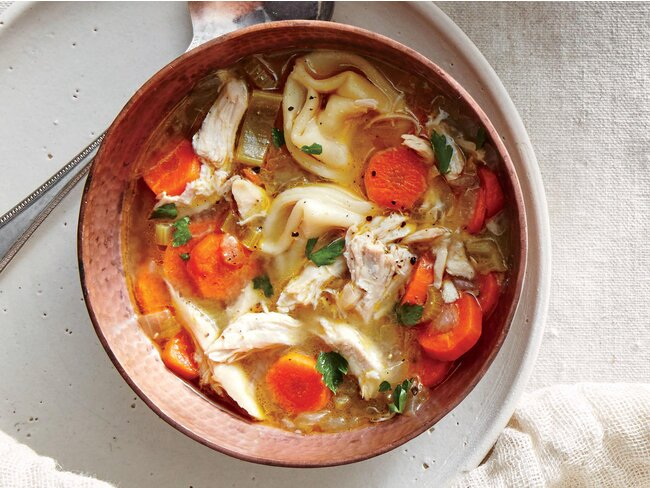 Easier Chicken Noodle Soup