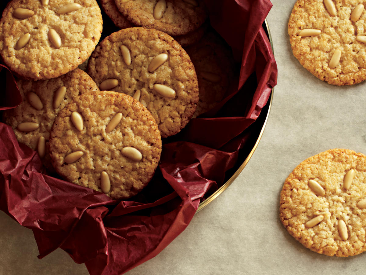 Healthy Pine Nut Cookies Recipe