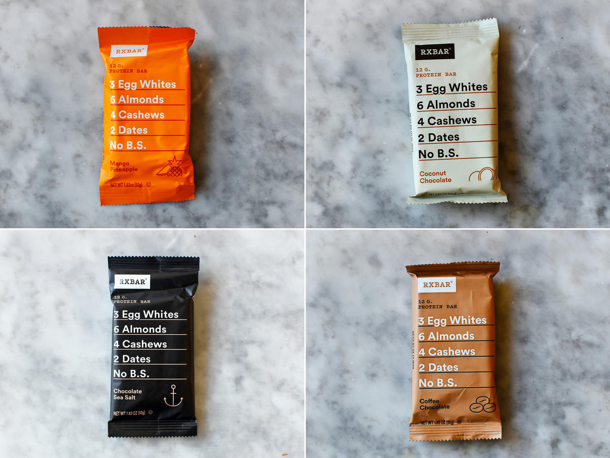 RXBARs Taste Test Verdict