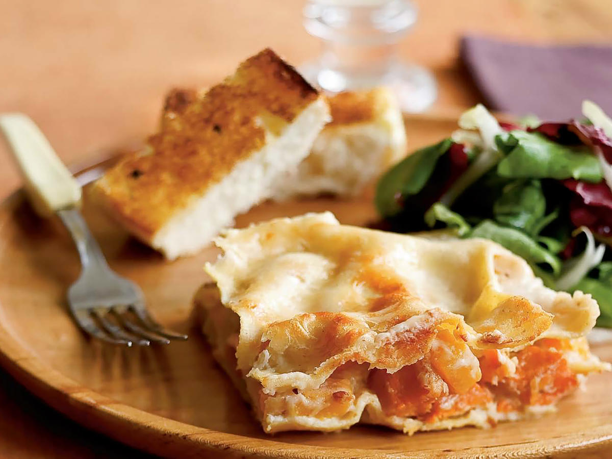 Parmesan and Root Vegetable Lasagna Recipe