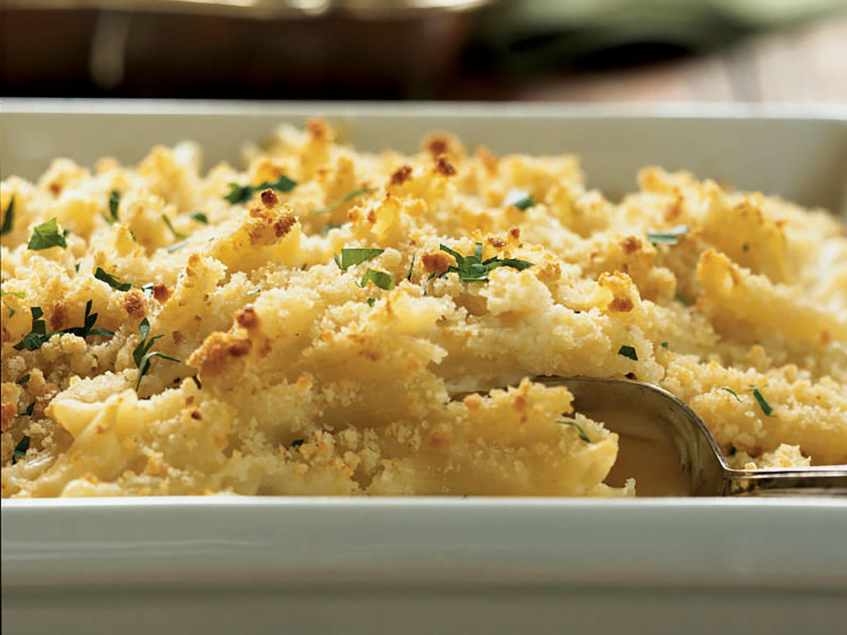 Fontina and Mascarpone Baked Pasta Recipe