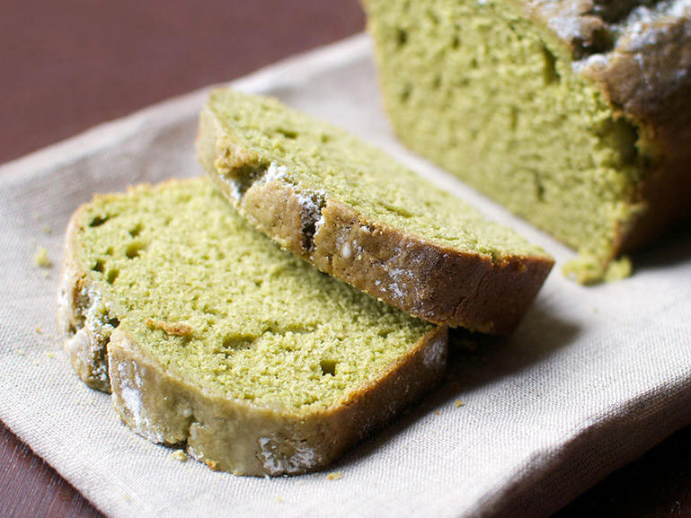 Treat Yourself: Matcha-Vanilla Buttermilk Pound Cake