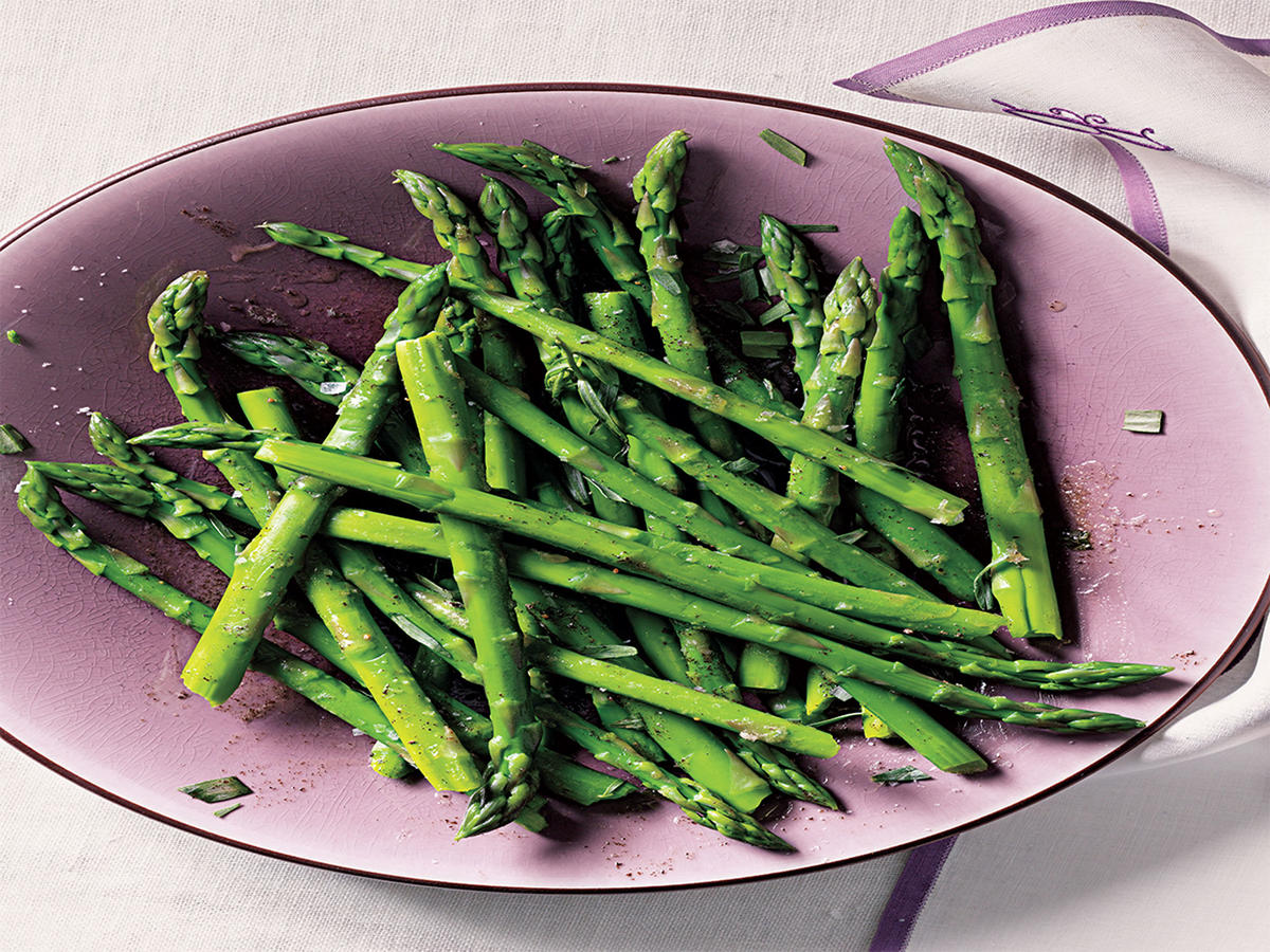 Healthy Browned Butter Asparagus Recipe