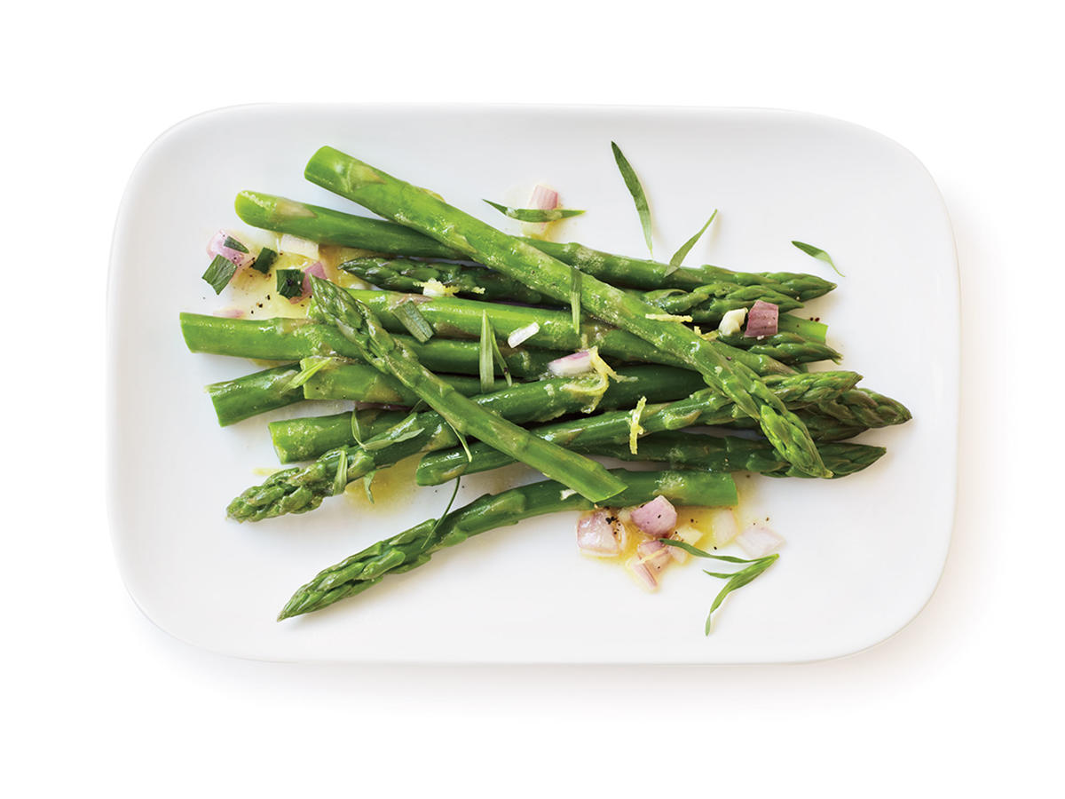 Healthy Lemon-Tarragon Asparagus Recipe