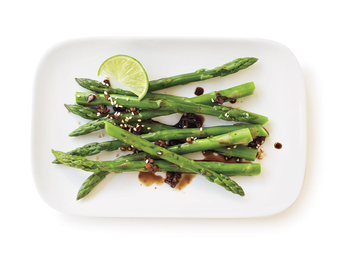 Healthy Sesame-Ginger Glazed Asparagus Recipe
