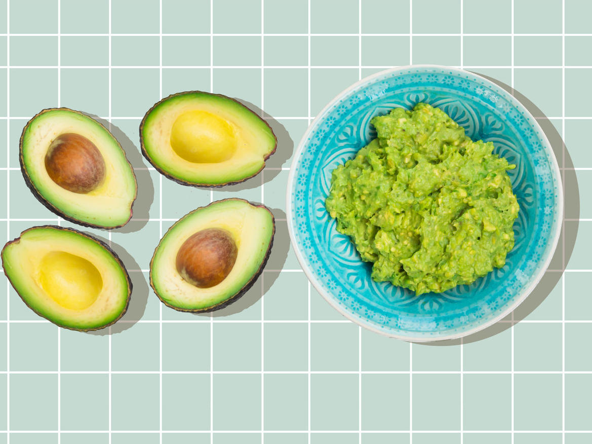 Avocados and guacamole