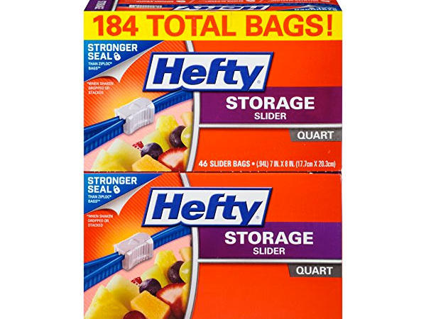 Hefty Slider Storage Bags
