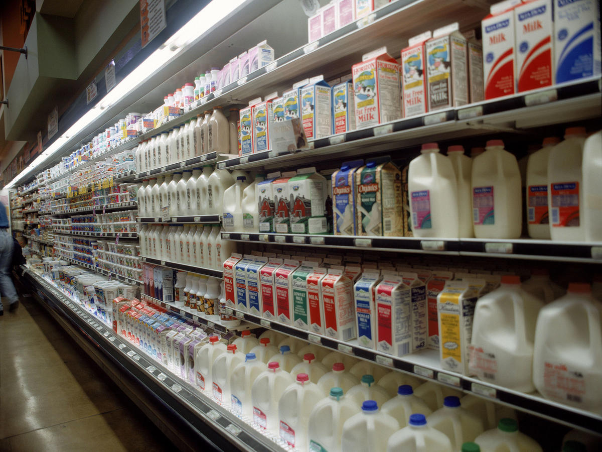 This New Bumpy Food Label Tells You When Your Milk Has Gone Bad