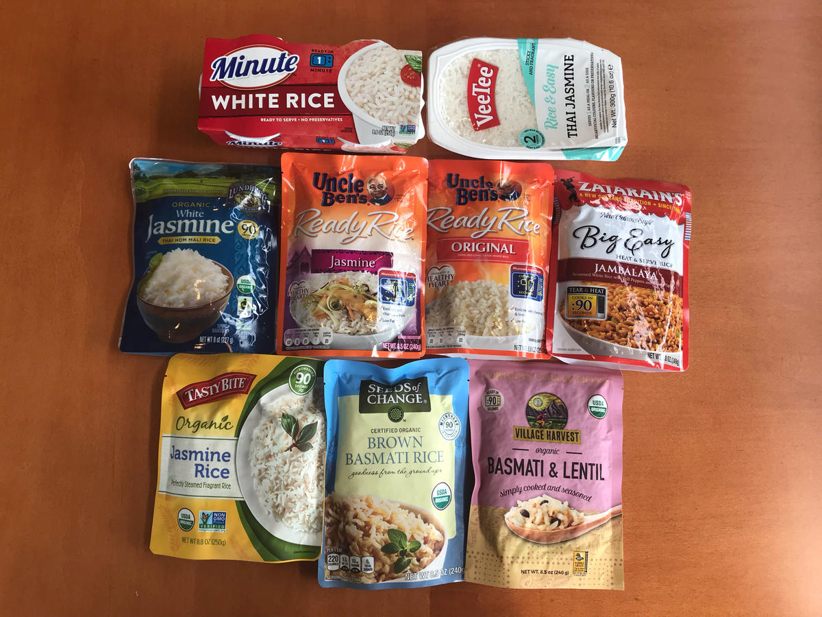 We Tried 9 Microwavable Rice Packets—These Are The Ones Worth Buying