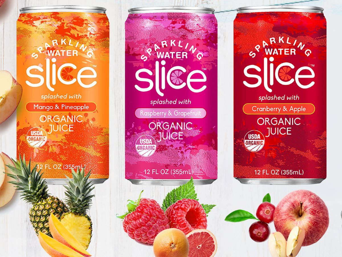 '80s Soda Brand 'Slice' Is Back — But It's Completely Different