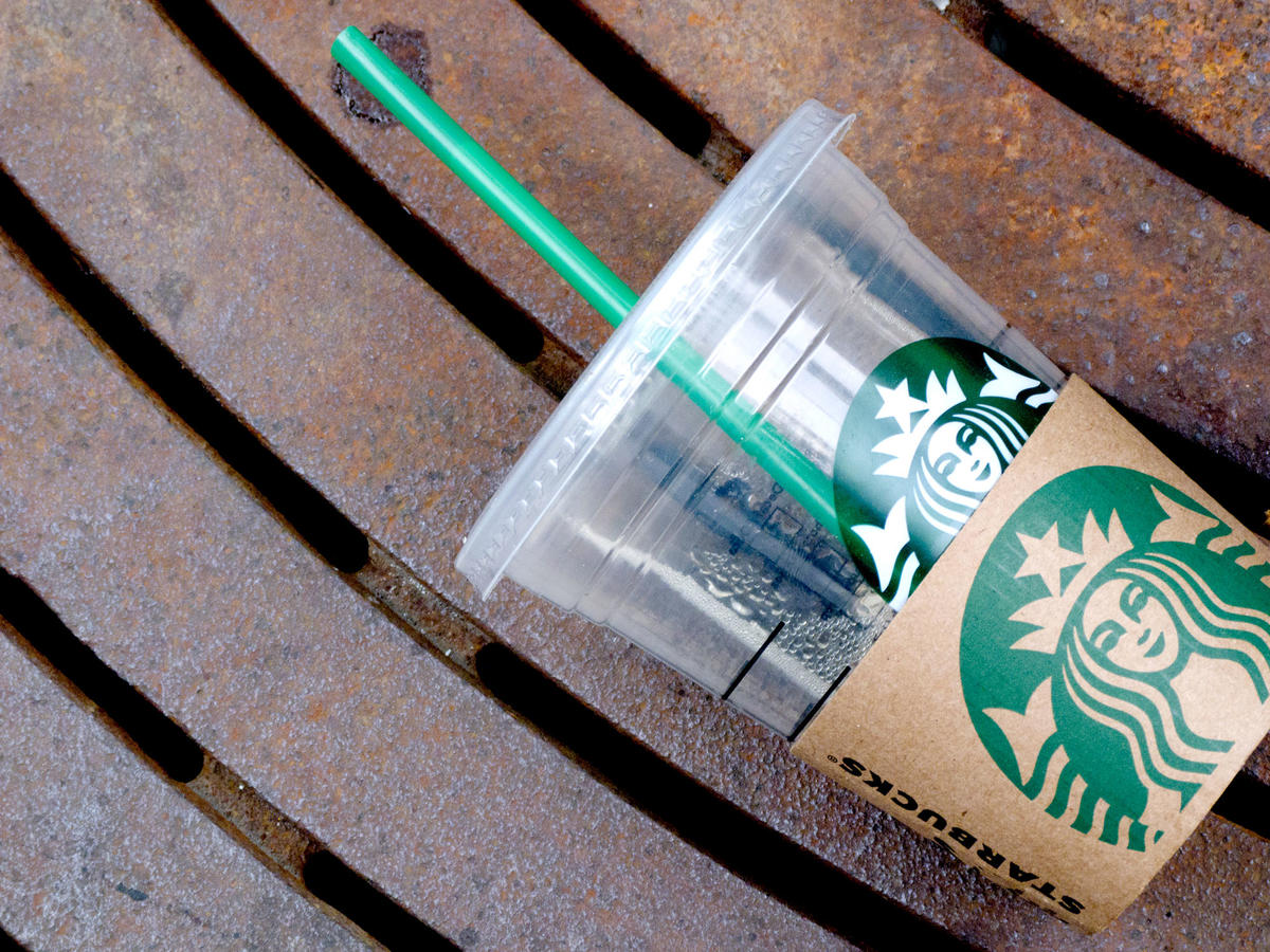 Starbucks Will Entirely Phase Out Plastic Straws by 2020