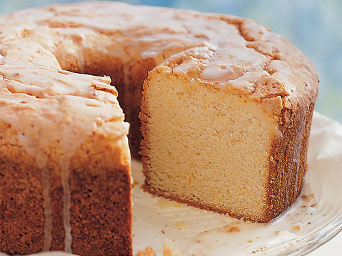 Sour Cream-Lemon Pound Cake Recipe