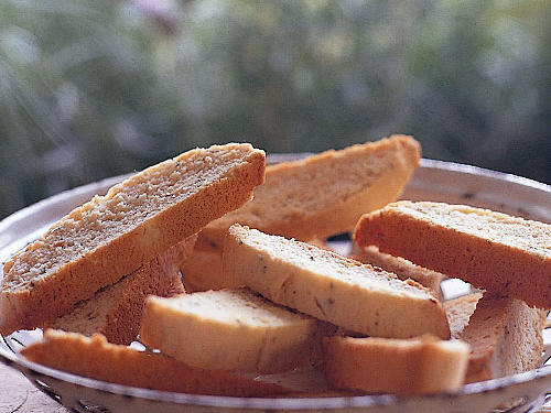 1210 Biscotti with Lavender and Orange
