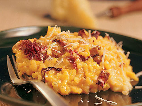 Winter's Best: Winter Squash Risotto with Radicchio